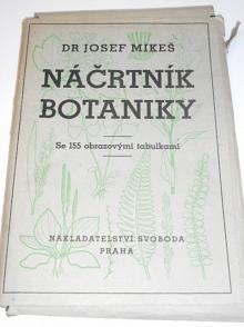 Náčrtník botaniky - Josef Mikeš - 1949