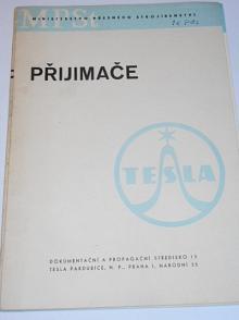 Přijimače Tesla - prospekt - 1956
