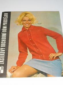 Katalog módního odívání 1970 - Zásilkový obchodní dům Prostějov