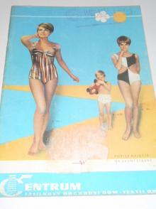 Centrum - zásilkový obchodní dům - Textil Brno - katalog - jaro - léto 1968