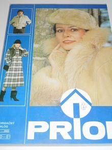 Prior - informačný katalóg jeseň/zima 1980 - 1981