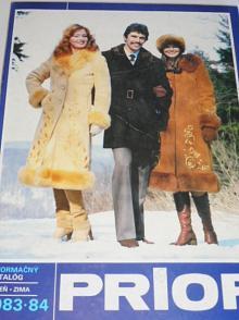 Prior - informačný katalóg jeseň-zima 1983 - 1984