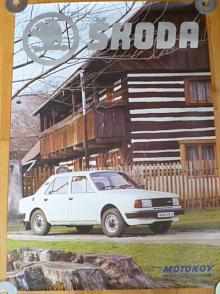 Škoda 120 LS - plakát - Motokov
