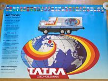 Tatra 815 GTC - Tatra kolem světa - Motokov - plakát