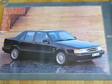 Saab 9000 CD - plakát - 1989