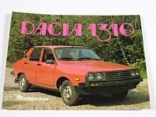 Dacia 1310 - samolepka - Mototechna
