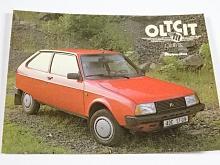 Oltcit Club 11 R - samolepka - Mototechna