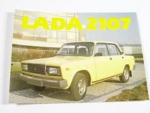 Lada 2107 - samolepka - Mototechna