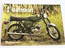 Simson S 51 - samolepka - Mototechna