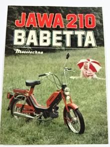 JAWA 210 Babetta - samolepka - Mototechna