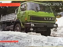 Liaz 150.261 sklápěč 4 x 2 - 1986 - prospekt