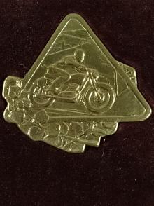1. terénní soutěž - Ledeč nad Sázavou - I. stupeň - plaketa