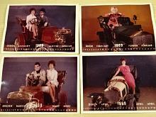 Kalendář 1969 - fotografie - Laurin a Klement, Torpedo, Tatra, Praga...
