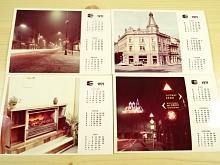 Kalendář 1971 - fotografie - ERAM kovo elekto podnik Hradec Králové