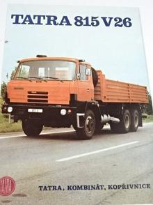 Tatra 815 V 26 208 6 x 6.2 - prospekt