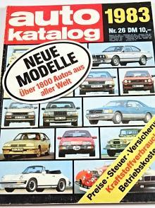 Auto Katalog 1983 - Škoda 120 GLS, Rapid, Garde, Tatra 613 Special
