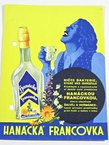 Hanácká Francovka - reklma - leták