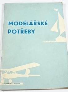 Modelářské potřeby - Vladimír Procházka - 1965