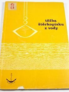 Těžba štěrkopísku z vody - Vlastimil Kohn - 1980