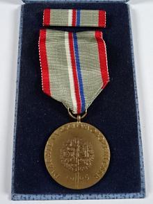 Dvacáté výročí osvobození ČSSR - 1965 - za zásluhy v boji proti fašismu - medaile