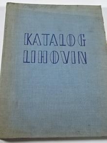 Katalog československých lihovin