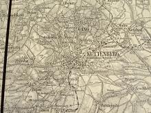 Kutná Hora - mapa - 1925