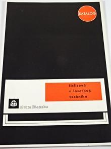 Metra Blansko - číslicová a laserová technika - katalog - 1971