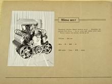 Tatra 603 F, 921, 924, 926 V, 928, 928 K, 930 - motory - fotografie