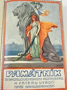 Památník československých rotmistrů z povolání k pátému výročí naší samostatnosti - Rudolf Hudec - 1923