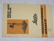 Leitz - Vergrosserungs - Apparate - 1930 - prospekt