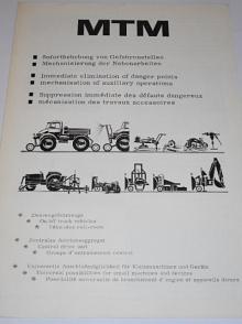 Plasser a Theurer - MTM - prospekt