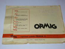 Návod k použití rozmnožovacího stroje Ormig 120