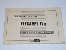 Meopta - fotografický přístroj Flexaret VIa - popis a návod k jeho používání