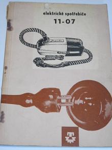 Elektrické spotřebiče - Technomat - 1961
