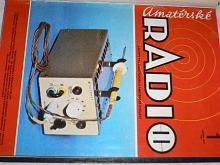 Amatérské radio - časopisy - 1982