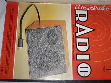 Amatérské radio - časopisy - 1981