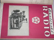 Amatérské radio - časopisy - 1954