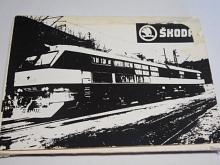 Škoda - elektrické lokomotivy - fotografie