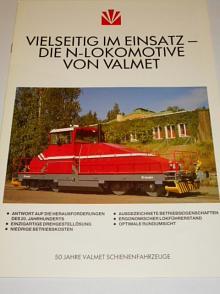 Valmet - Vielseitig im einsatz die N-lokomotive von Valmet - prospekt