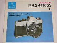 Pentacon - Praktica L - 1974 - prospekt