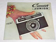 Canon - Canonet junior - prospekt