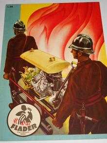 Flader - hasičské stříkačky, motory, podvozky - prospekt