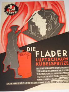 Flader - Die Flander luftschaum kübelspritze - prospekt