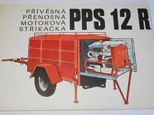 Přívěsná přenosná motorová stříkačka PPS 12 R - prospekt