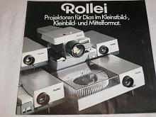Rollei - Projektoren für Dias im Kleinstbild... prospekt