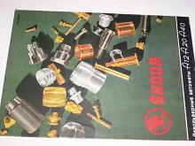 Škoda - Revolverové automaty A12 A20 A 40 - prospekt