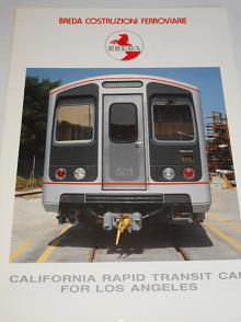Breda - California rapid transit car for Los Angeles - prospekt