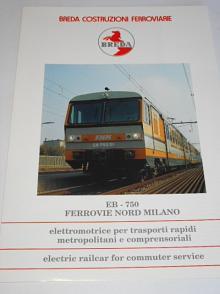 Breda - EB-750 Ferrovie Nord Milano - prospekt