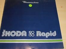 Škoda 120, 130 Rapid - prospekt - Mototechna - 1985