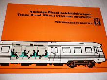 WB - 4 achsige Diesel - Leichttriebwagen - prospekt - 1964